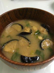 アマノフーズのなすの味噌汁2