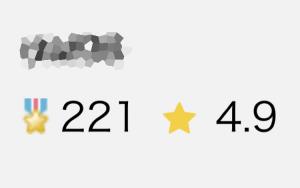 ランサーズ評価数